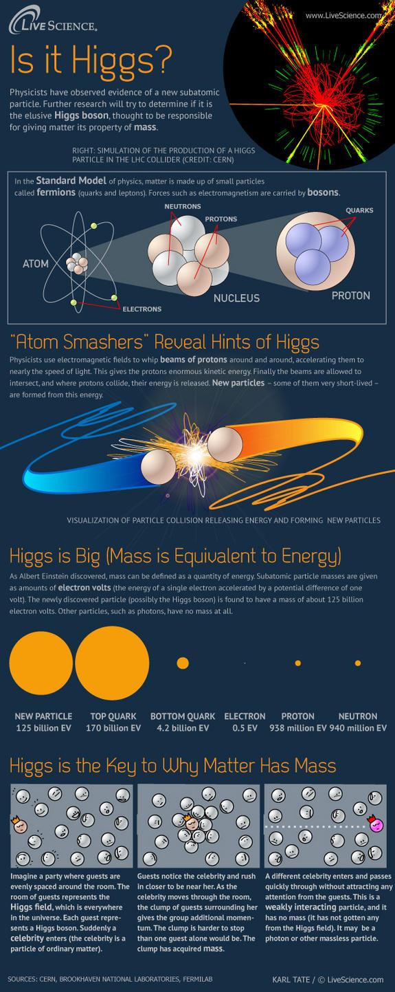 Higgs-boson Infographic
