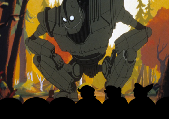 The CMC MST3K Team watches The Iron Giant