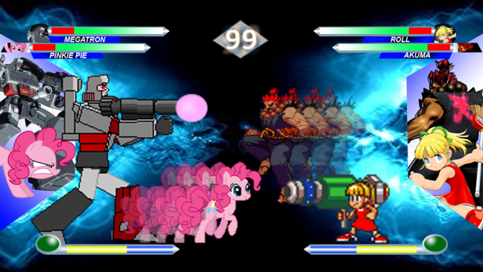 Hasbro Vs Capcom Screenshot 2