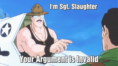 Sgt. Slaughter Argument