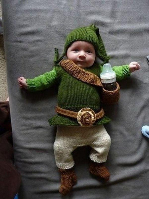 Baby Link Cosplay