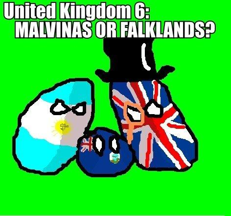 United Kingdom 6: Malvinas or Falklands?