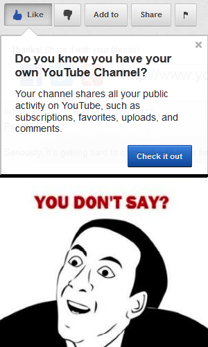 You don t say youtube you don t say know your meme