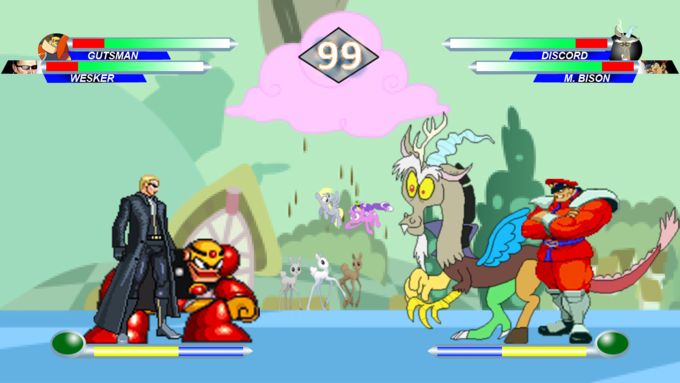 Hasbro Vs Capcom Screenshot 3
