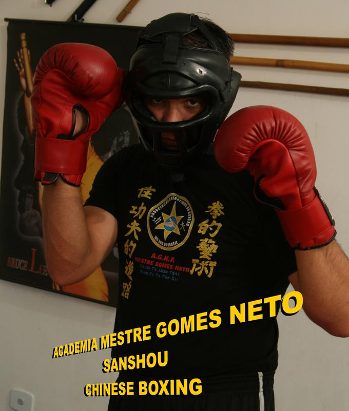 Sanda Boxing - Mestre Gomes Neto