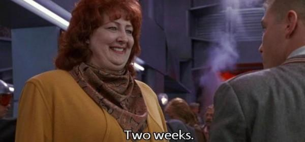 Two Weeks Subtitle