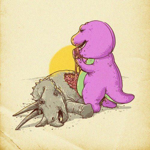 Vengo a destruir tu infancia (imagenes)...