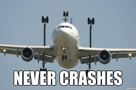 The Never Crashing Airplane