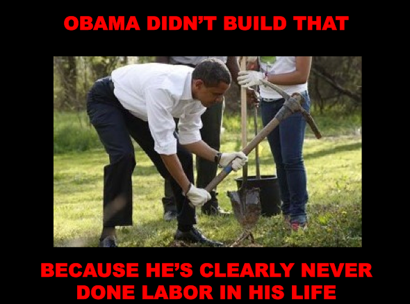 Obama Didn't Build That