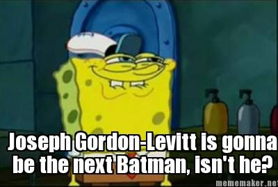 Spongebob Just Figured Out what the end of the Dark Knight Rises Meant