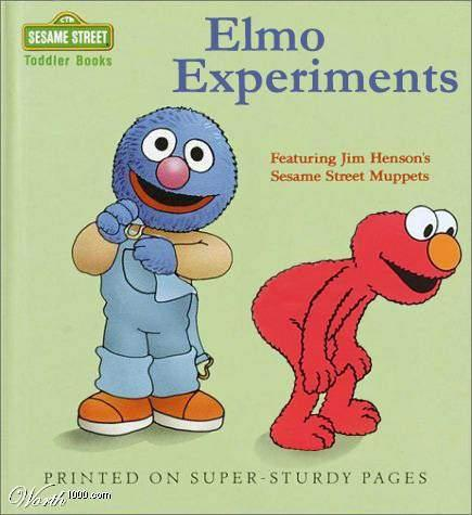 Elmo got too curious