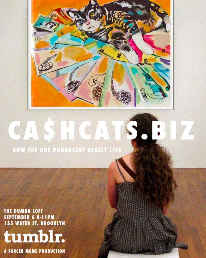 Ca$hCats Exhibit in September 2012