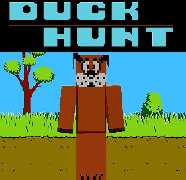 duck hunt dog minecraft skin