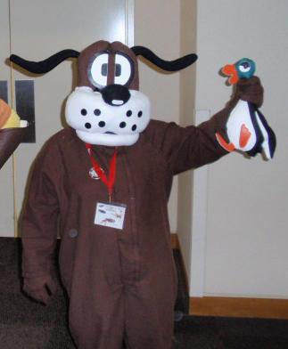 gen con duck hunt dog costume