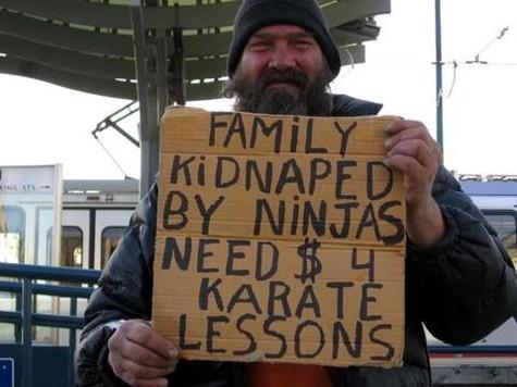 Hobo needs Karate for $4
