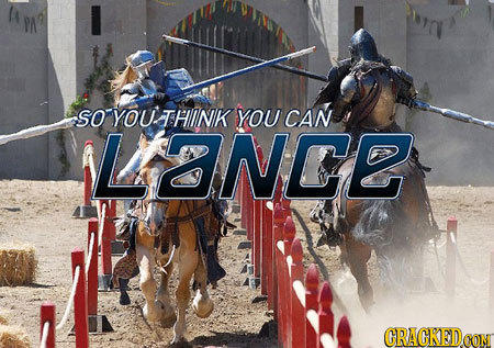 So You Think You Can Lance