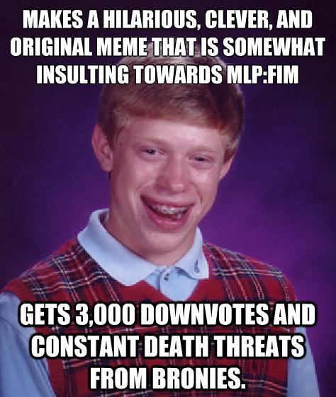 bad luck brian mlp