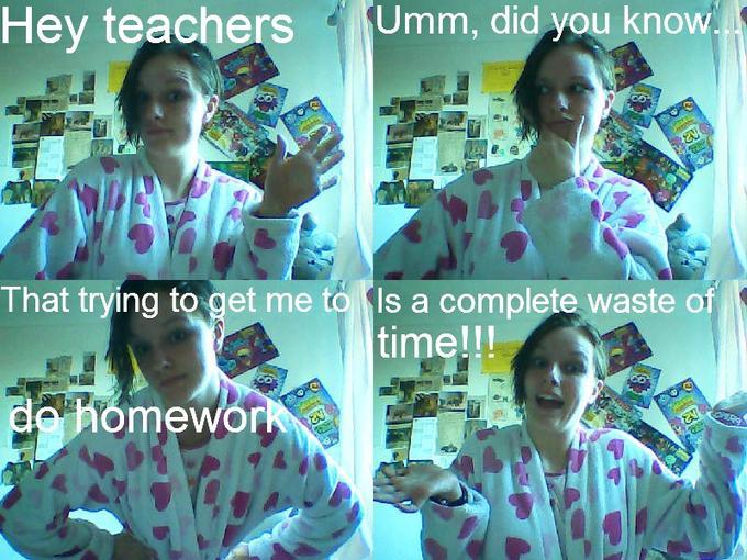 Homework...