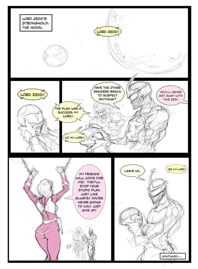 """""""Sexy Zedd"""" Comic Strip #1"""