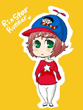 Everyone loves the Rin. She's a terrific artist.