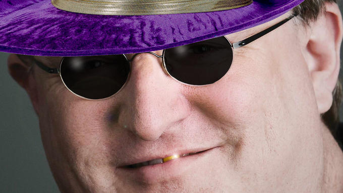 Gabe Newell The Pimp