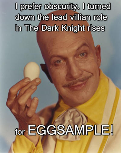 From Professor Egghead