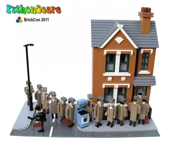 Lego Brick Con silly Walks