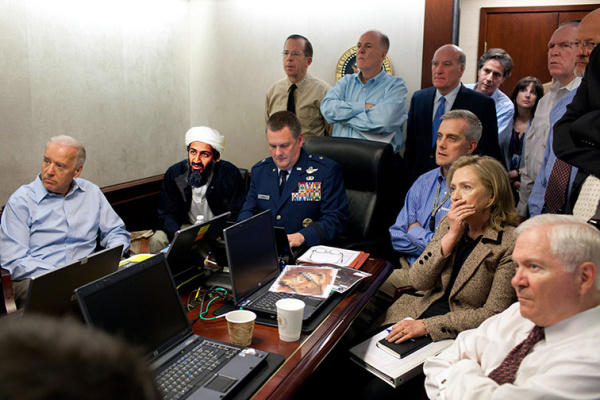 Osama was there!