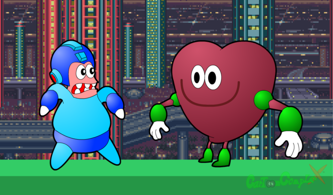 Patrickman Vs Heart Man