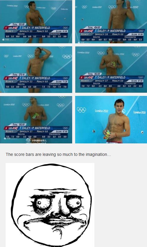 Olympics or Gay Porn?'
