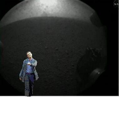 Leo on Mars