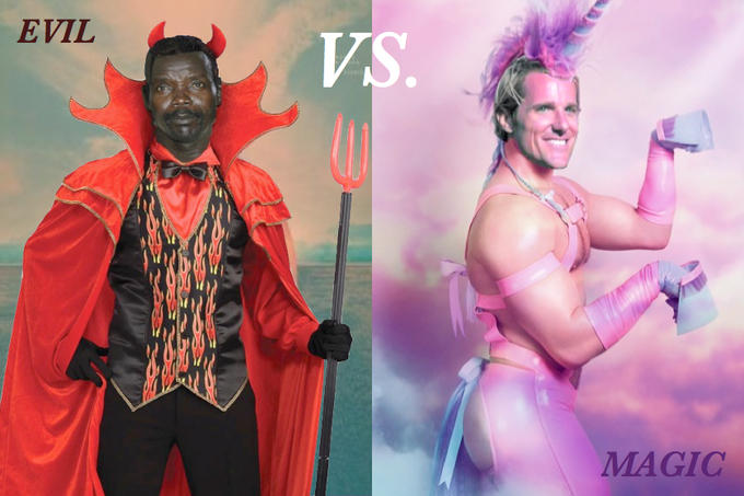 Jason Russell and Joseph Kony Evil Vs. Magic