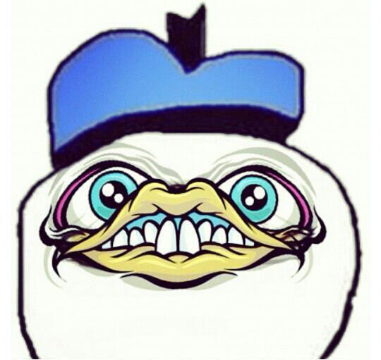 Dolan's orgasm face