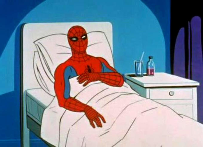 60 Spider-Man: That posst gave me cancer