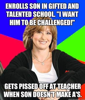 My kids needs a challenge! He's so smart!