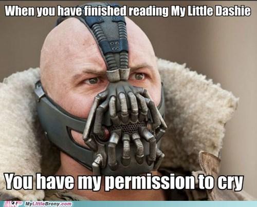 Bane's Brony Permission Granted