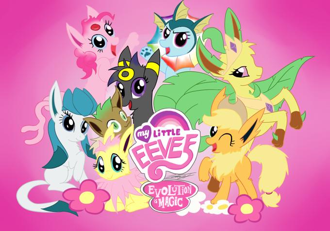 My Little Eevee - Evolution is magic by http://therealphoenix.deviantart.com/