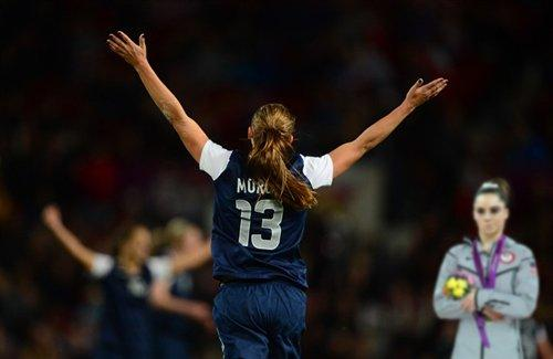 Alex Morgan is the champion, yet McKayla is not impressed