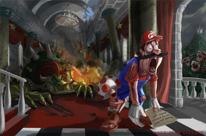 Mario's Reaction Face