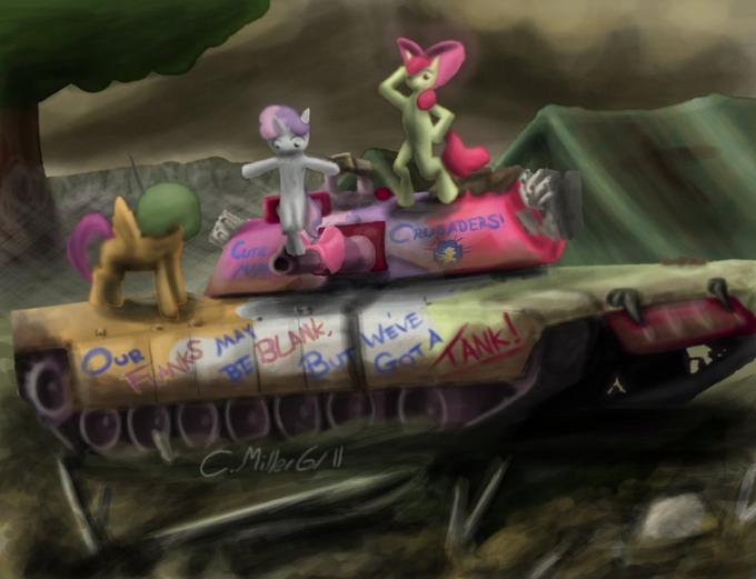 CMC in an M1A2 Abrams