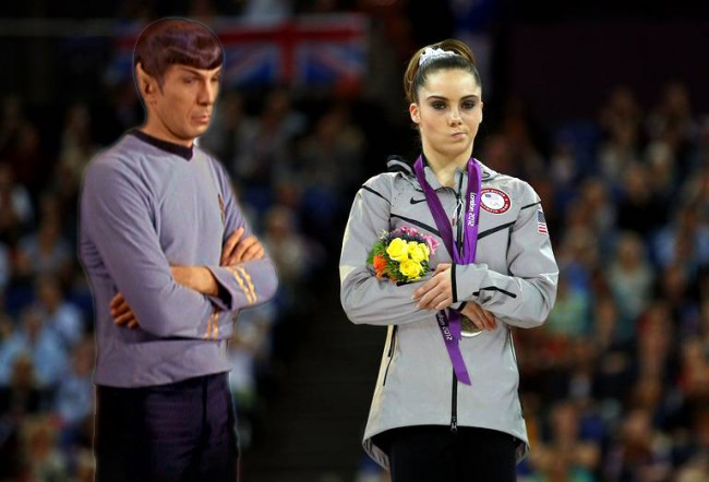Spock Meme is not impressed with your McKayla Meme