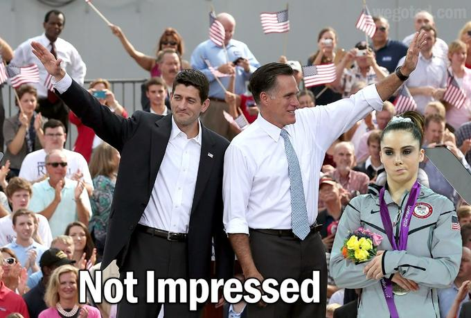 Not Impressed With Mitt & Paul