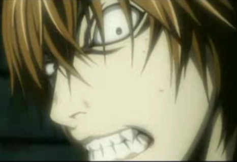 light yagami crazy