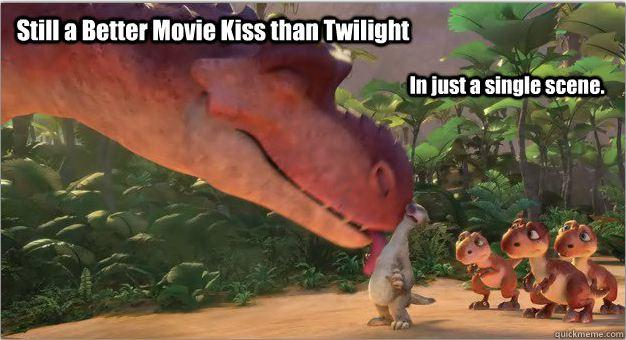 A Much Better Movie Kiss than Twilight