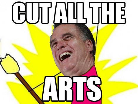 Cut All the Arts!