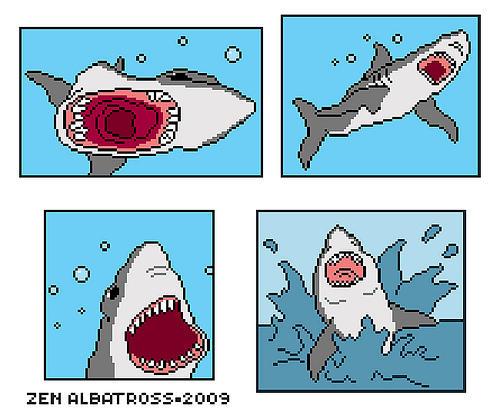 http://www.destructoid.com/blogs/Zen+Albatross/shark-week-tribute-the-singing-shark-pixelstyle-142779.phtml