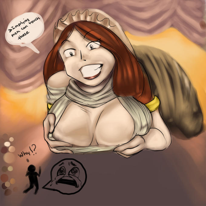 Gwynevere Titty Monster