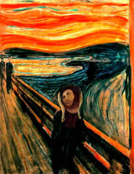 the Scream from Cecilia Gimenez