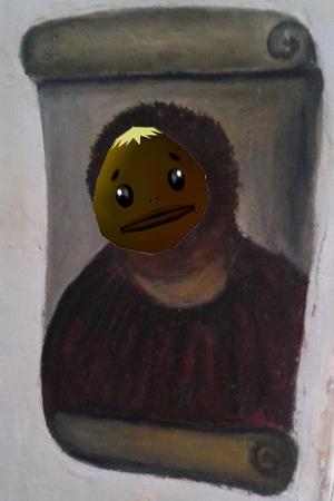 Goron Mask Jesus