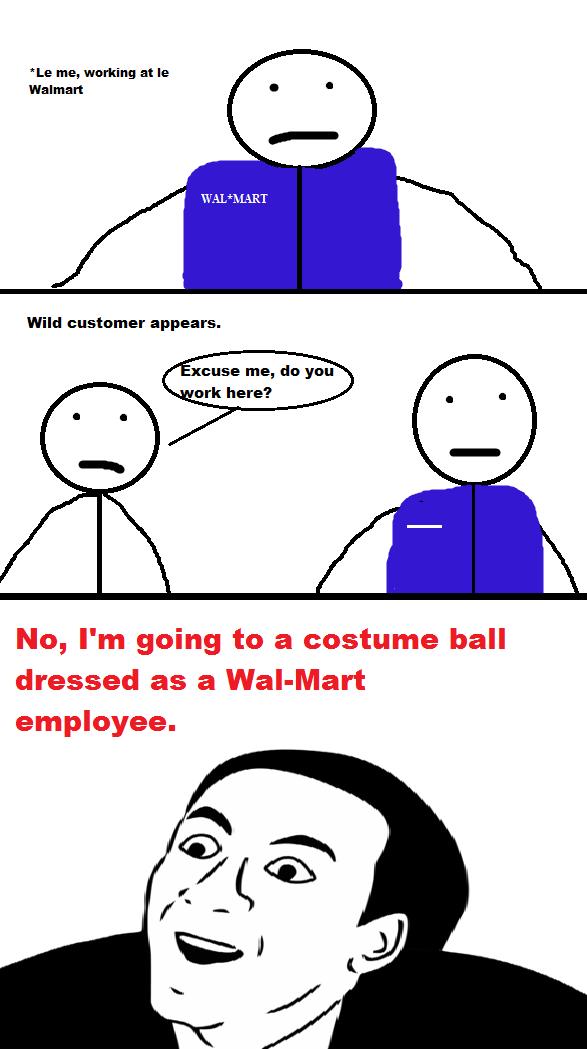 Stupid crap at Walmart